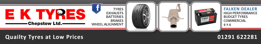 EK Tyres - Welcome