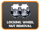 Locking nut removal